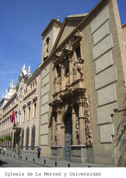 Iglesia de La Merced y Universidad